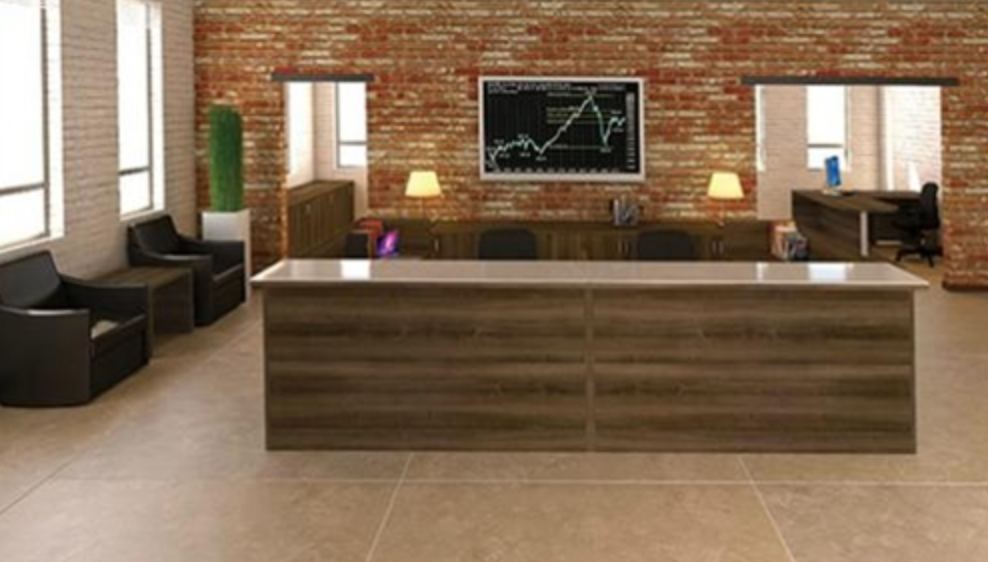 Amber Series Multi User U Shaped Reception Desk by Cherryman