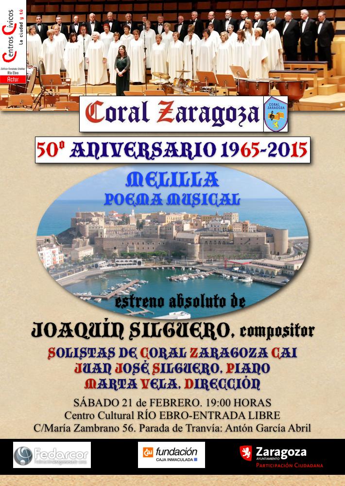 Coral Zaragoza CAI - Melilla