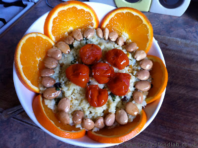 ferdiesfodlab recipe mums orange cous cous and almonds