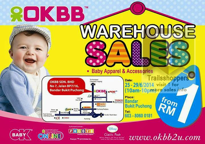 OKBB Warehouse Sales Puchong from RM1