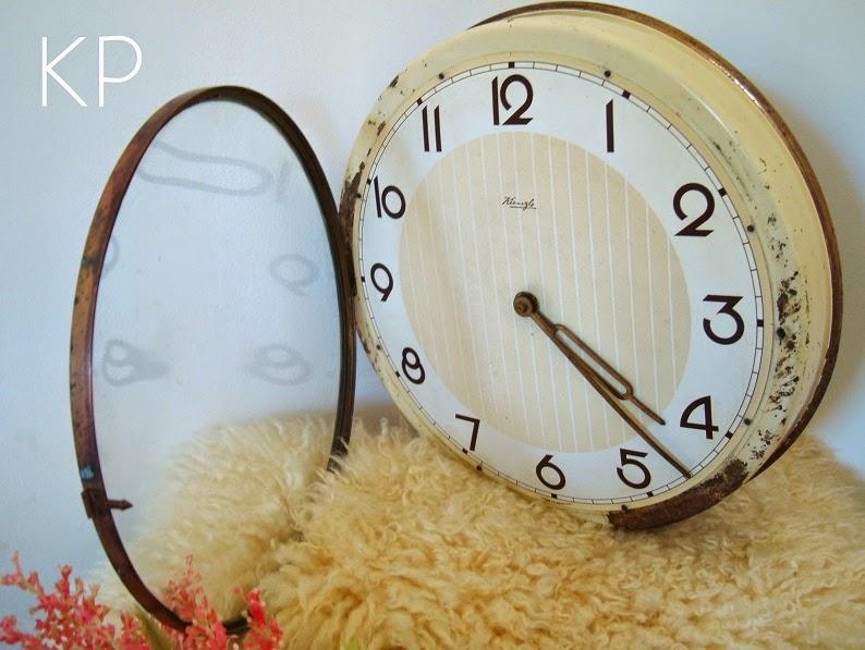 Kp tienda vintage online reloj de pared vintage ref r4 - Relojes para decorar paredes ...
