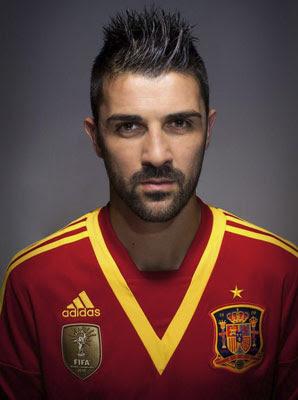camiseta selección española Copa Confederaciones David Villa 2013