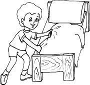 Dibujos de niños discapacitados para colorear en silla de ruedas