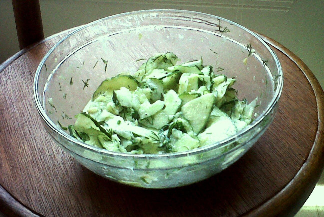 yogurt cucumber yogurt salad cool cucumber salad savory greek yogurt ...