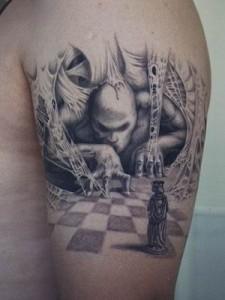 beautiful+3d+tattoo+nice