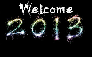 welcome New Year 2013