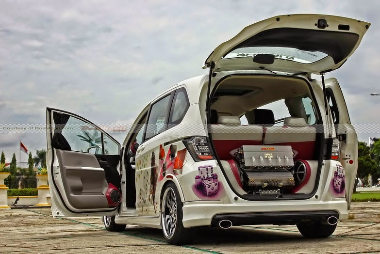 foto modifikasi honda freed
