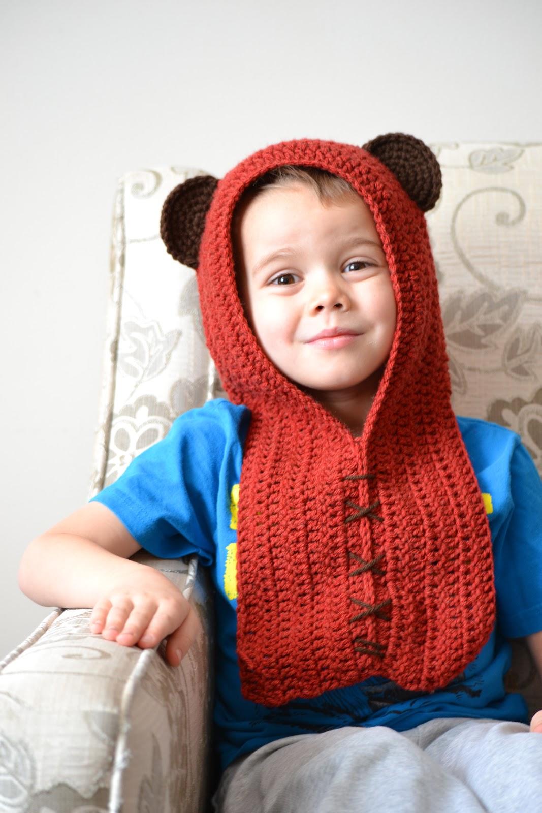 Knotty Knotty Crochet Ewok Hat Free Pattern Link
