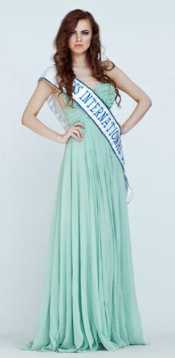 Miss International Lithuania 2012 Asta Jakumaite