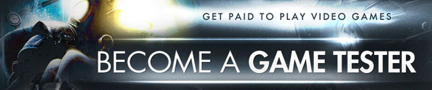 Become A Game Tester -GET DISCOUNT NOW-