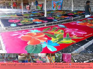 Sarong from Bali. Bali Sarong Pareo Factory