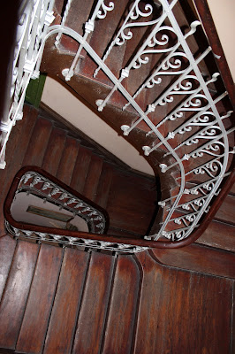 Escaleras art-decó
