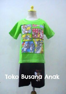 baju, kartun, tom and, jerry