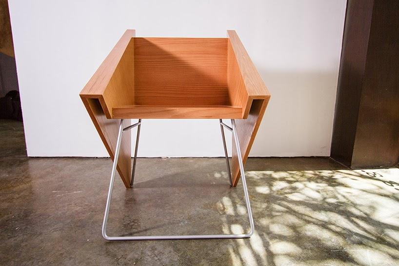 kursi minimalis desain menarik majalah rumah