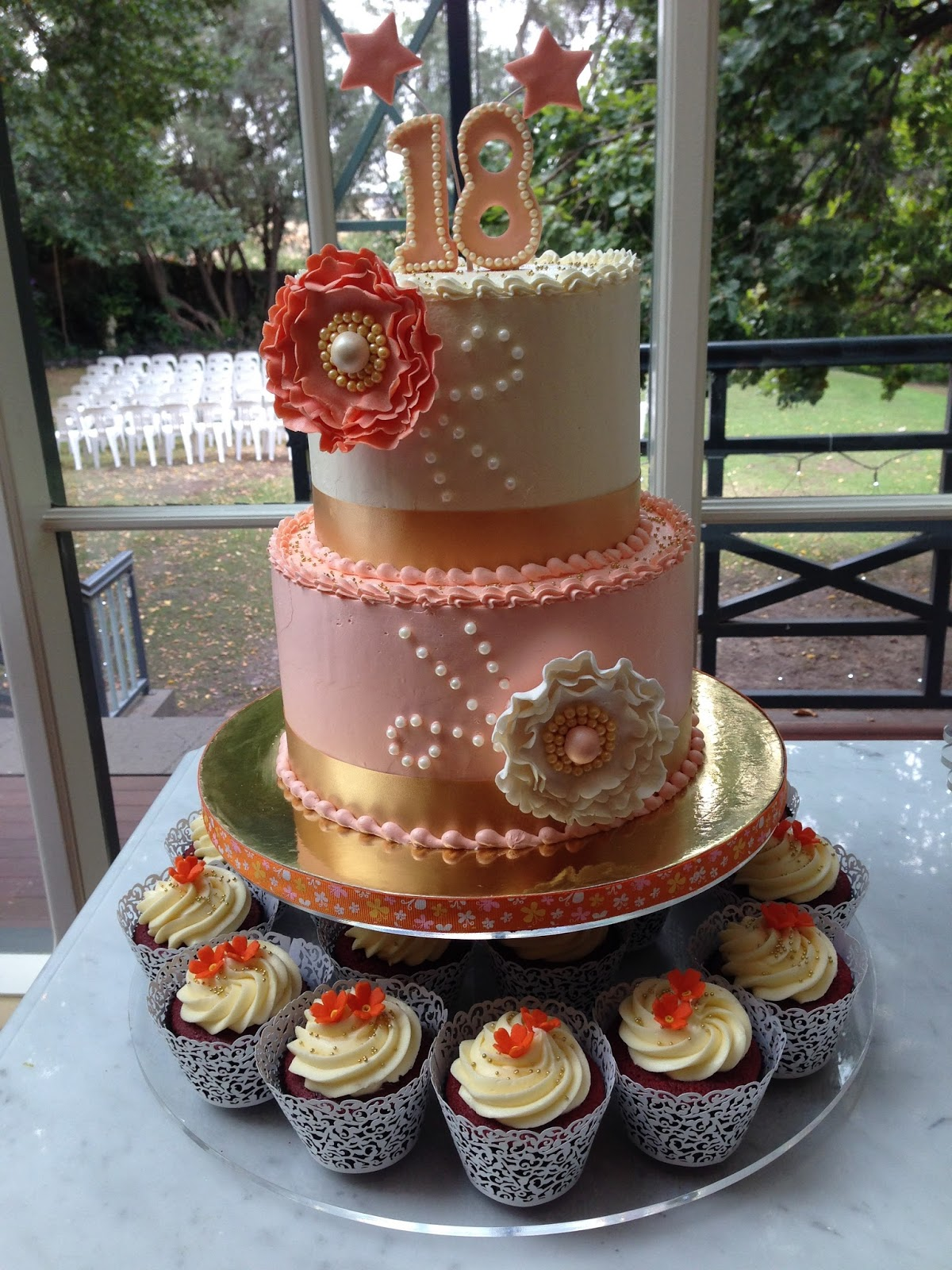 Images Of Cake For Niece : Heart of Mary: My niece s 18th birthday party