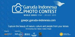 garuda indonesia foto contest pamerkan danau toba