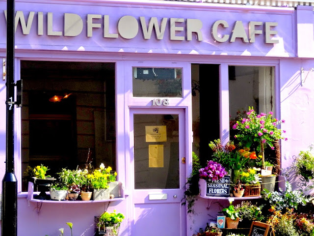 Wildflower Cafe Notting Hill