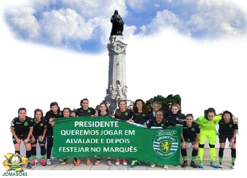 Apelo do Futebol Feminino do Sporting