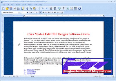 cara edit file pdf dengan cepat