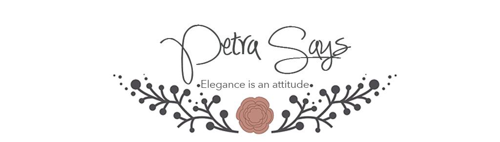Elegance is an attitude