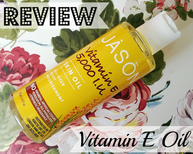 JĀSÖN Vitamin E 5,000 I.U. Skin Oil Review