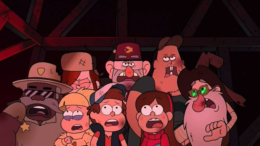 Gravity Falls - Um Verão de Mistérios - 2ª Temporada 2016 Desenho 720p BDRip Bluray HD HDTV completo Torrent