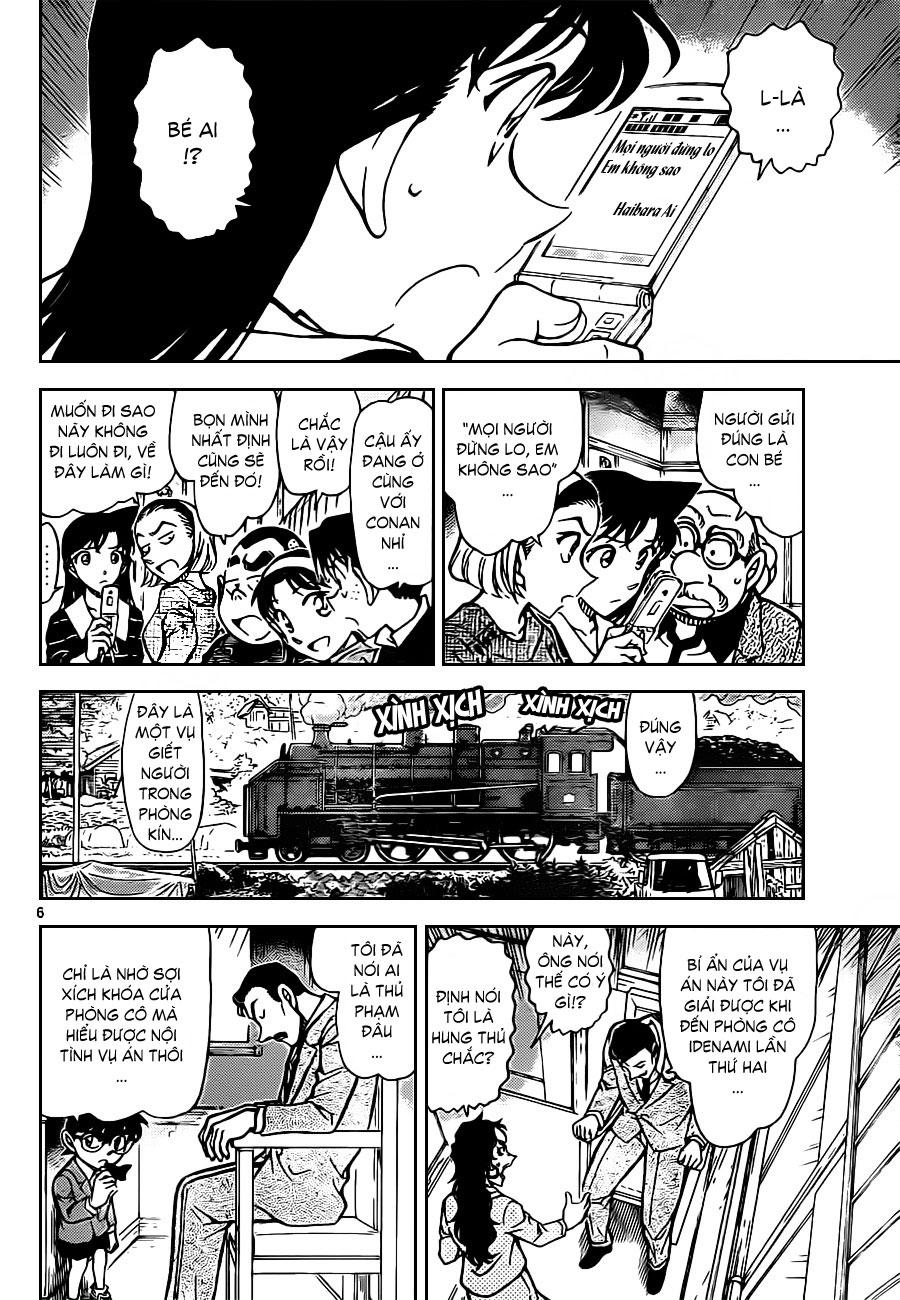 Thám Tử Lừng Danh Conan - Chapter 822 - Pic 7