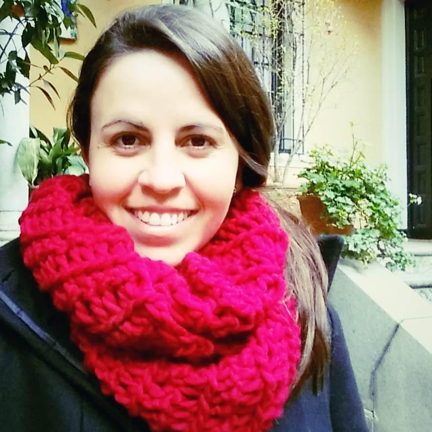 Cuello - Bufanda Infinita a Crochet con los Dedos - Ahuyama Crochet