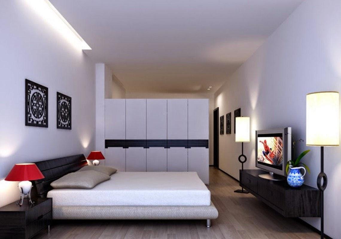 Gambar Desain Kamar Tidur Minimalis Elegan