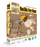 برنامج فك الضغط Programme face pressure RarZilla