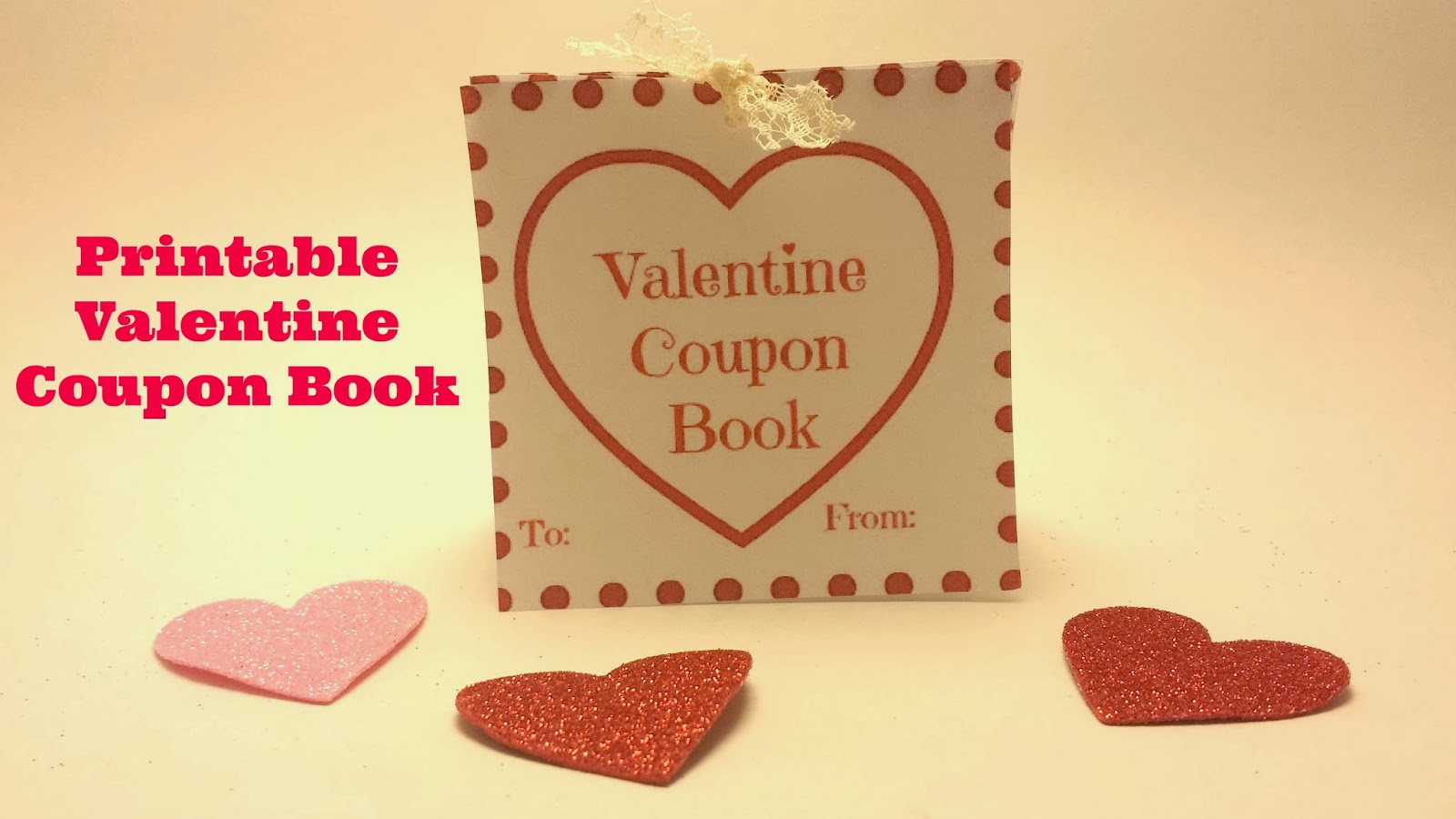 valentine coupon book printable