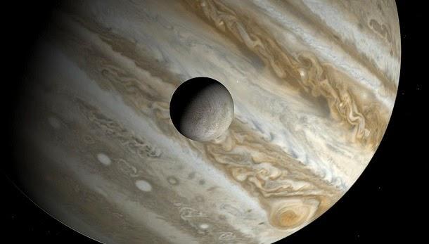 Europa, a lua de Júpiter, pode ter placas tectónica como a Terra