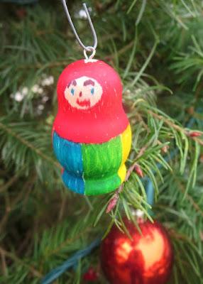 DIY Russian Doll Ornament