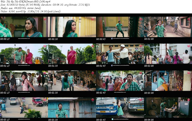 Na Re Na-(Bojhena Shey Bojhena) Bengali Movie HD Video Song Free Download