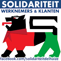 Solidariteit met de werknemers van Delhaize