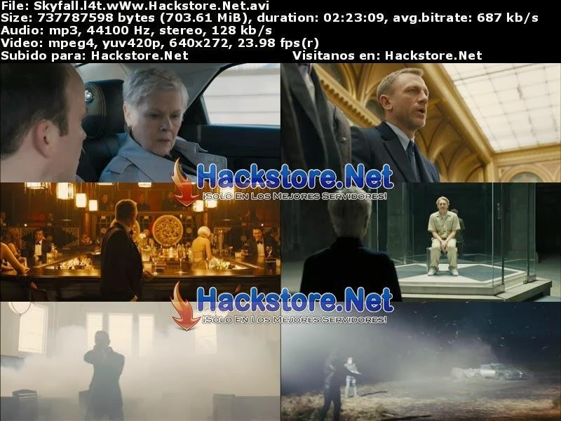 Captura 007: Operación SkyFall (2012) DVDRip Latino