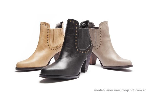 Viamo botas y botinetas moda invierno 2013.