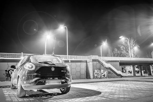 Fiat Bravo Tarnobrzeg Noc Samochów Night Car Poland