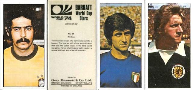 FOOTBALL 50 CARDS - EXC+++ BASSETT-FULL SET- WORLD CUP 74