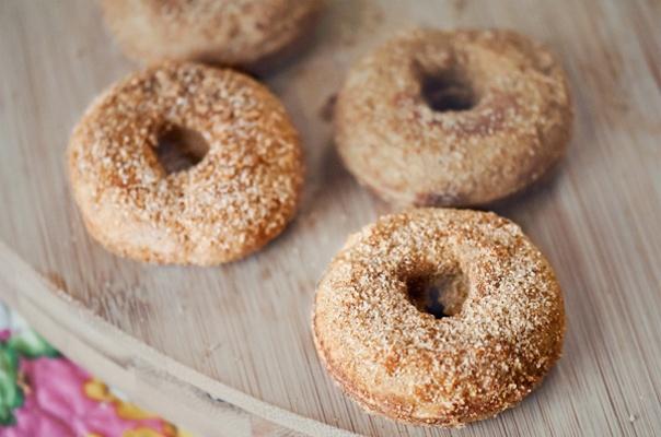 Mini Gluten-Free Vanilla-Cardamom Doughnut