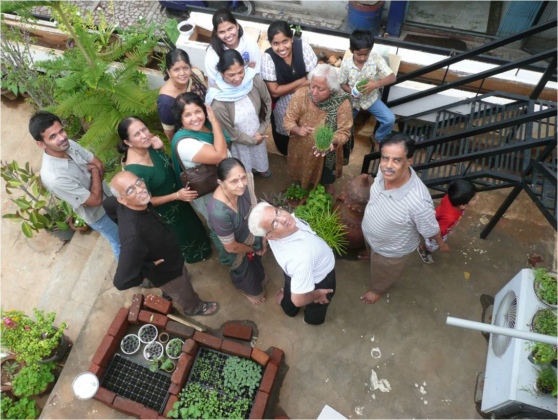 Kitchen Gardeners Organic Gardening Kitchen Garden Day Celebrations At Rrnagar B