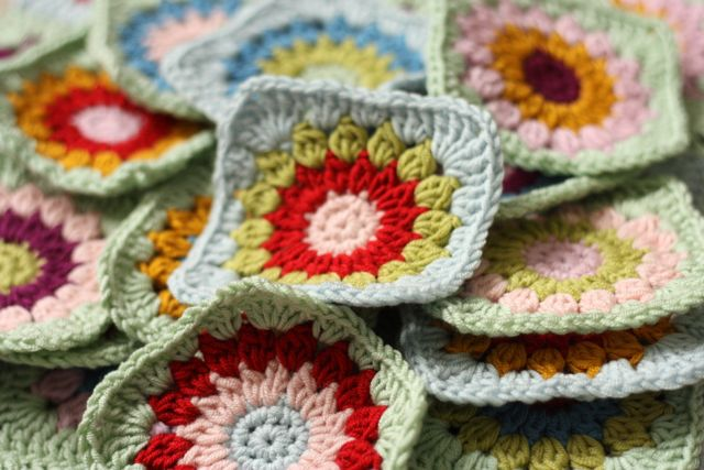 Crocheting Problems : Look at those crochet beauties, dont they look a glorious sight?