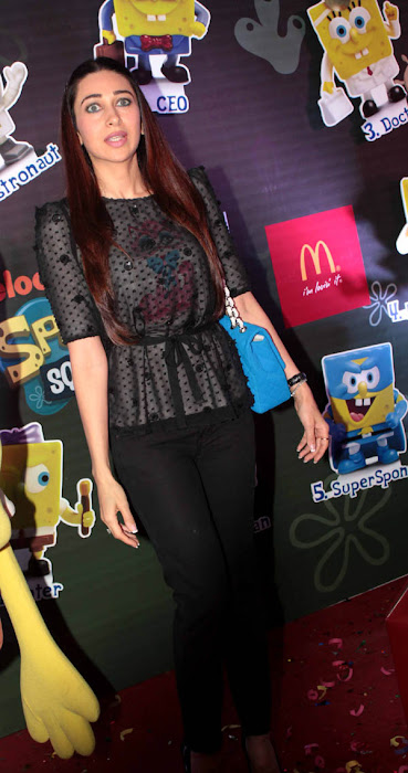 karisma kapoor launches spongebob squarepants happy meal hot images