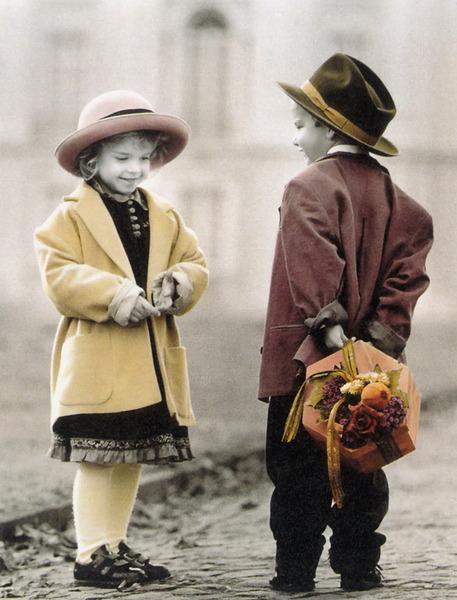 Imagenes de niños enamorados tiernos - Imagui