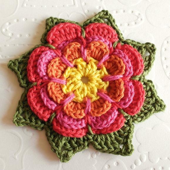Tuto fleur crochet facile - modele gratuit 2014 1