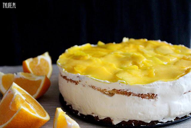 tort mango z masą smietanowa mascarpone