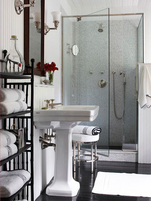 Amueblar Baño Pequeno:Small Bathroom Shower Designs