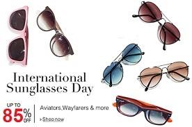 International Sunglasses Day:Upto 85% Off on Men's / Women's Sunglasses @ Amazon