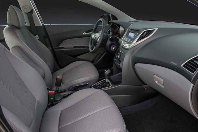 Novo Hyundai HB20 X 2014 - interior