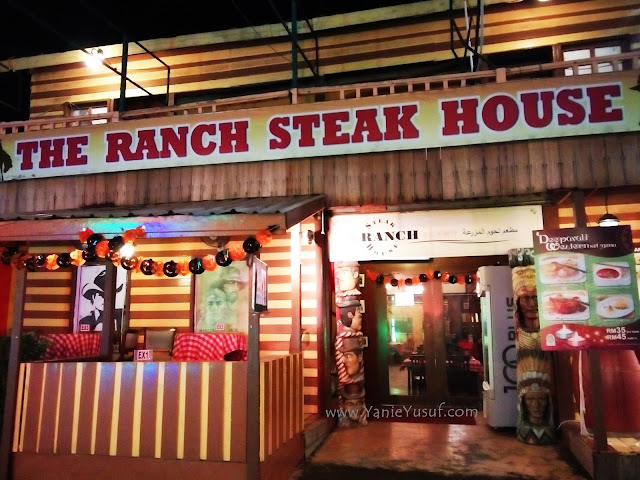 The Ranch Steak house, afamosa resort, cowboy town